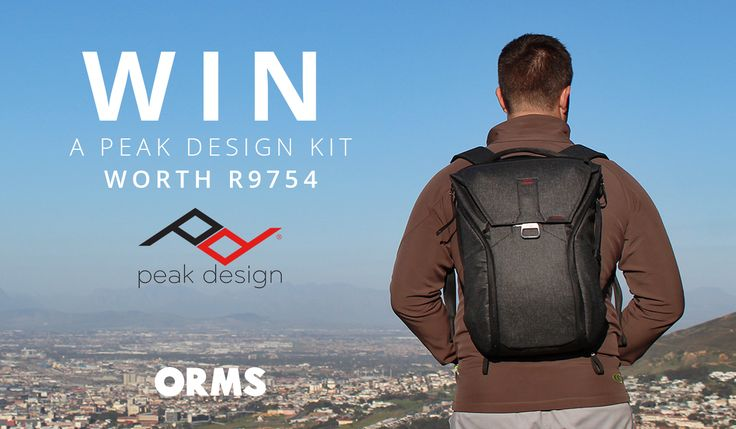 Giveaway: WIN a Peak Design Kit Worth R9 754!