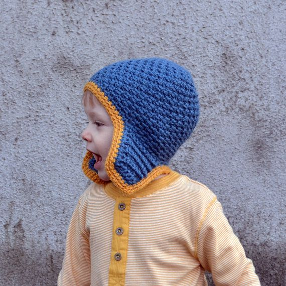 Check out Earflap Baby Boy Toddler Alpaca Winter Two Color Hat on acrazysheep