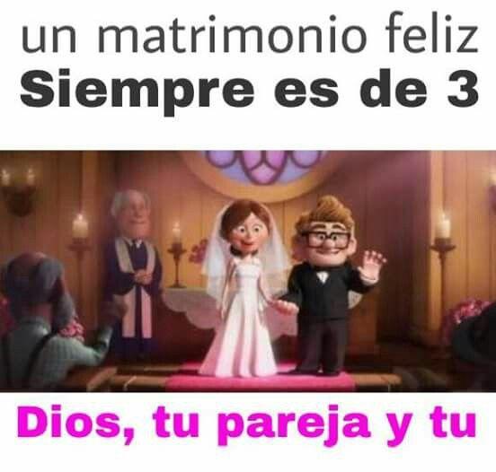 Matrimonio casa de 3, tu,  yo y Dios