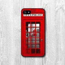 Nova cabine de telefone de londres interessante projeto para o iPhone 4 4S 5 5S 5c 6 6 plus(China (Mainland))
