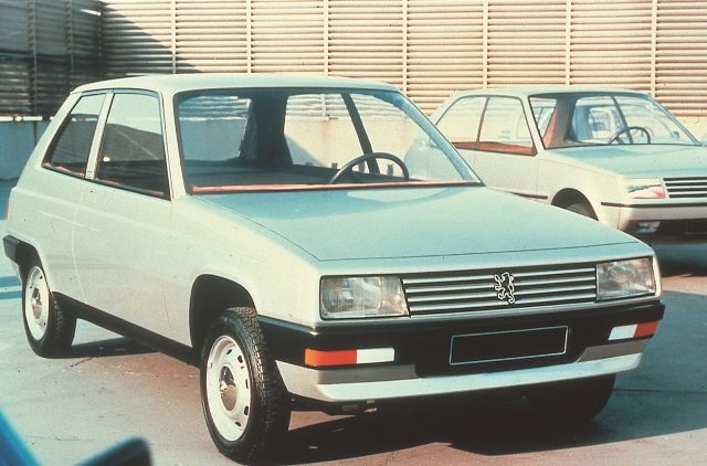 OG   1982 Peugeot 205 - Project M24   Full size mock-up proposal from Pininfarina dated 1978