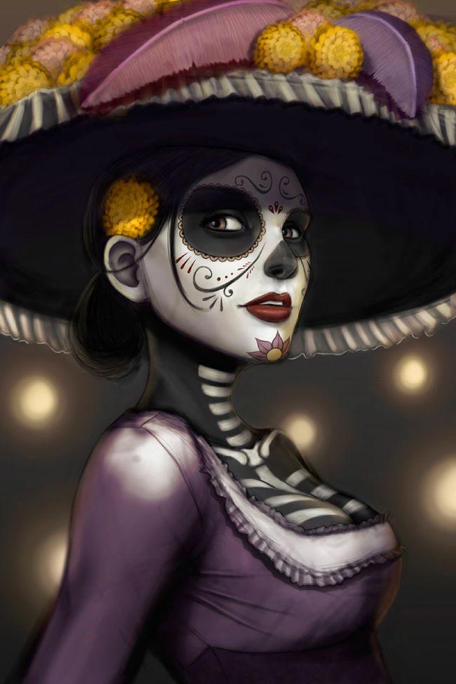 El Día de los Muertos es una de las fiestas más importante en México y en algunos países de Centroamérica. Honrando este día hemos seleccionado 10 ilustradores que han publicado proyectos con esta temática cargada de color y cultura. Comienza la fiesta visual  El Origen del Día de Muertos 1.Euge Digón 2.Katherine Ponce 3.Mauricio …