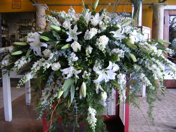 17 best images about funeral arrangements on pinterest altar flowers floral arrangements and. Black Bedroom Furniture Sets. Home Design Ideas