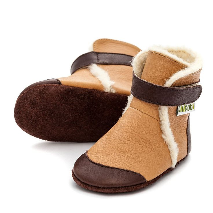 http://www.liliputibabycarriers.com/soft-leather-baby-boots/soft-soled-booties-eskimo-caramell