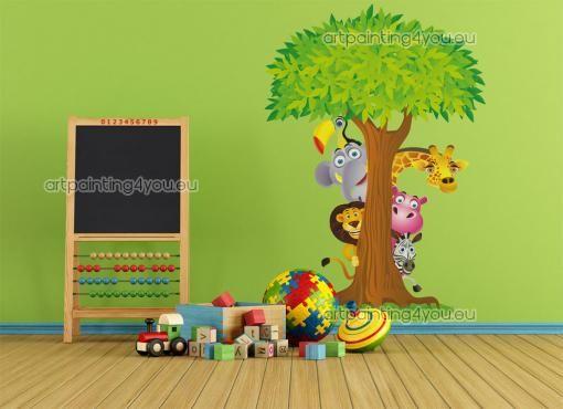 117 best kinderkamer - dieren images on pinterest, Deco ideeën