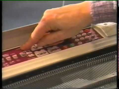 Brother 950i Instructional video on how to use and program the Brother 950i knitting machine.