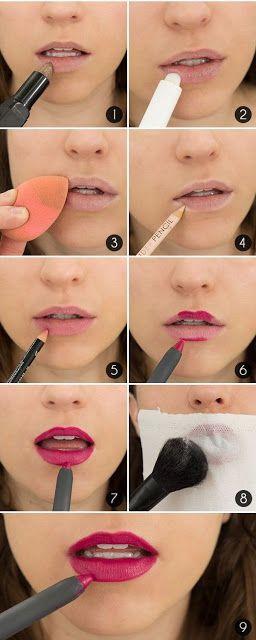 Cara Membuat Bibir Terlihat Seksi