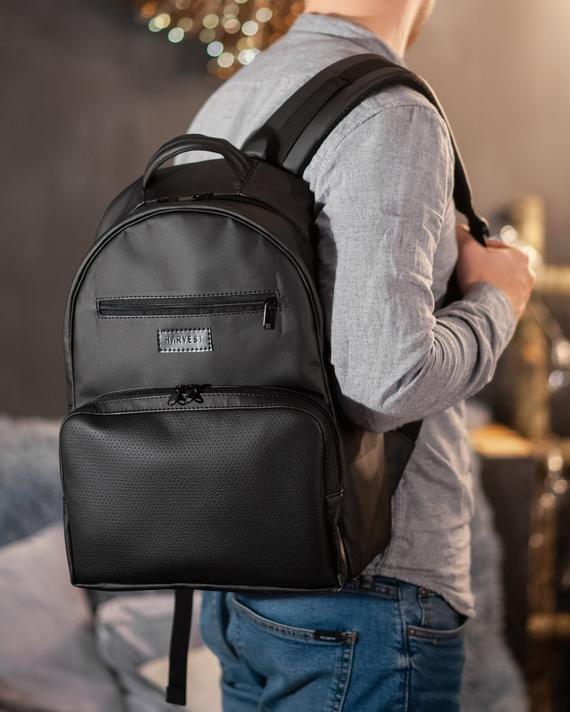 Leather Rucksack School Backpack Leather Backpack Everyday Bag College Backpack Travel Backpack Leather Backpack Men Hipster Backpack