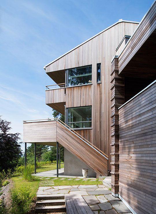 Villa Nordberg in Oslo. Architects: KIMA.