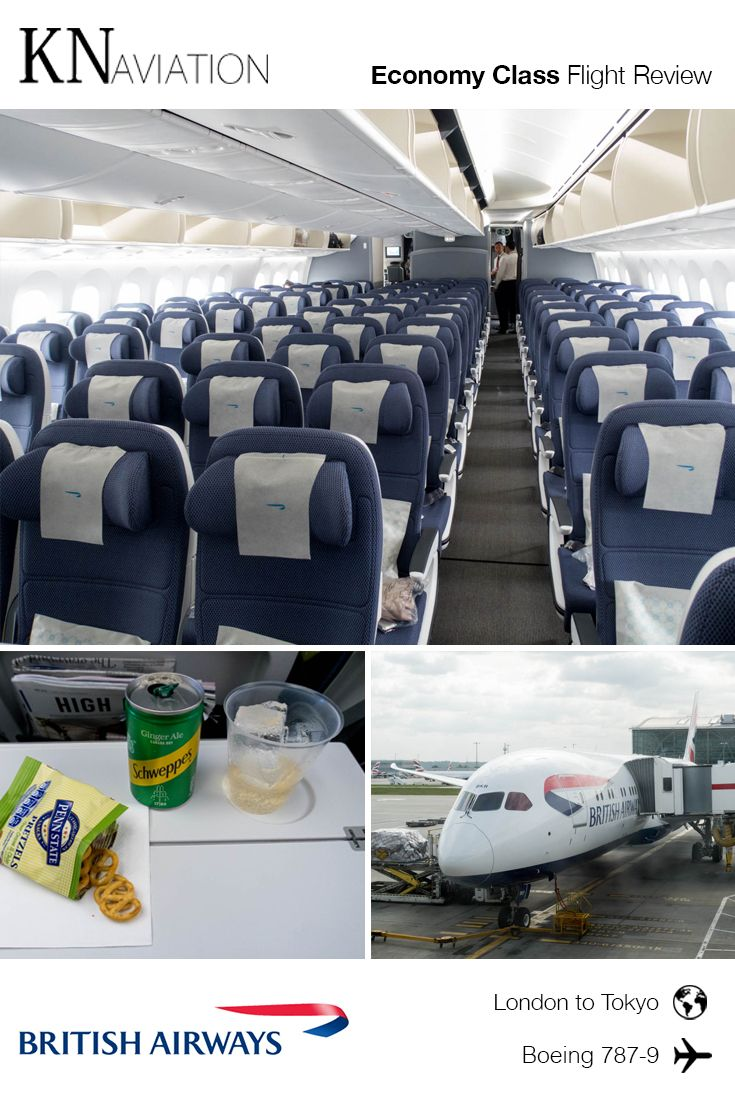 British Airways Boeing 787 9 Economy Class Review When I Was A Kid I Flew Between London And Tokyo On A Boeing 747 40 British Airways British Airline British