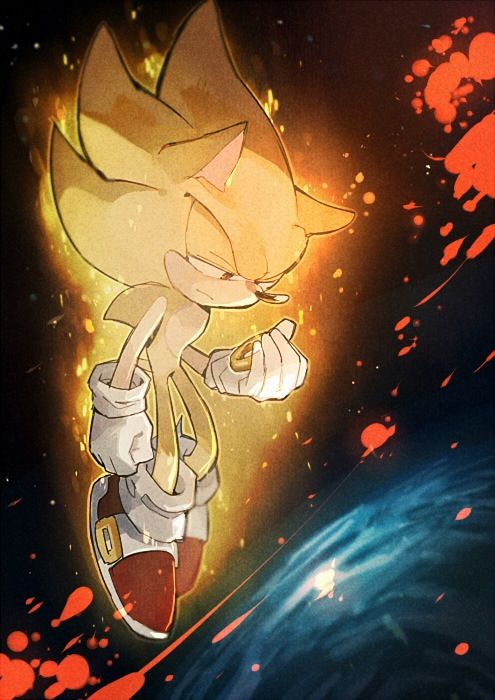 Super Sonic and Shadow... Sonic Adventure 2 Battle fans will understand... I'm 17 and this part makes me cry. EVERY. SINGLE. TIME....