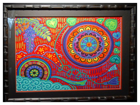 Fumiko Nakayama's quilt
