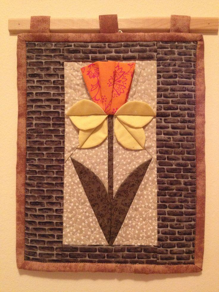 Térhatású nárcisz falikép