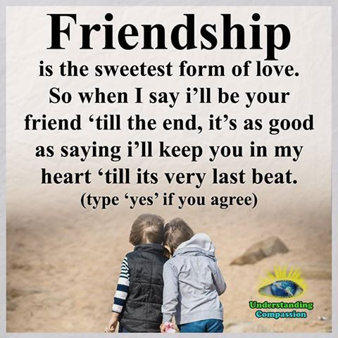 Friendship Is The Sweetest For Of Love Life Quotes Quotes Quote Friends  Best Friends Bff Friendship Quotes True Friends Quotes About True Friends  Friendship ...