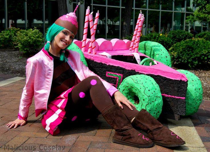 sugar rush candlehead cosplay wreck it ralph by
