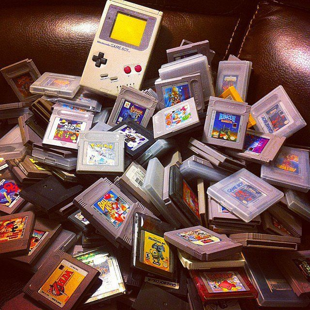 Remember when these were our whole world? Now we've got a new branch of gaming. Happy Birthday, Gam Boy! #YAYAgamers