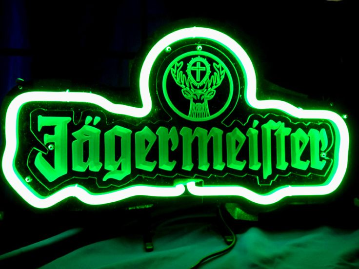 Man Cave Neon Signs Canada : Best images about jagermeister beer bar neon sign on