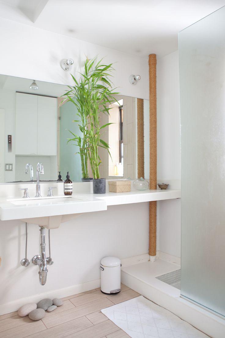 283 best White Bathrooms images on Pinterest | White bathroom, White ...