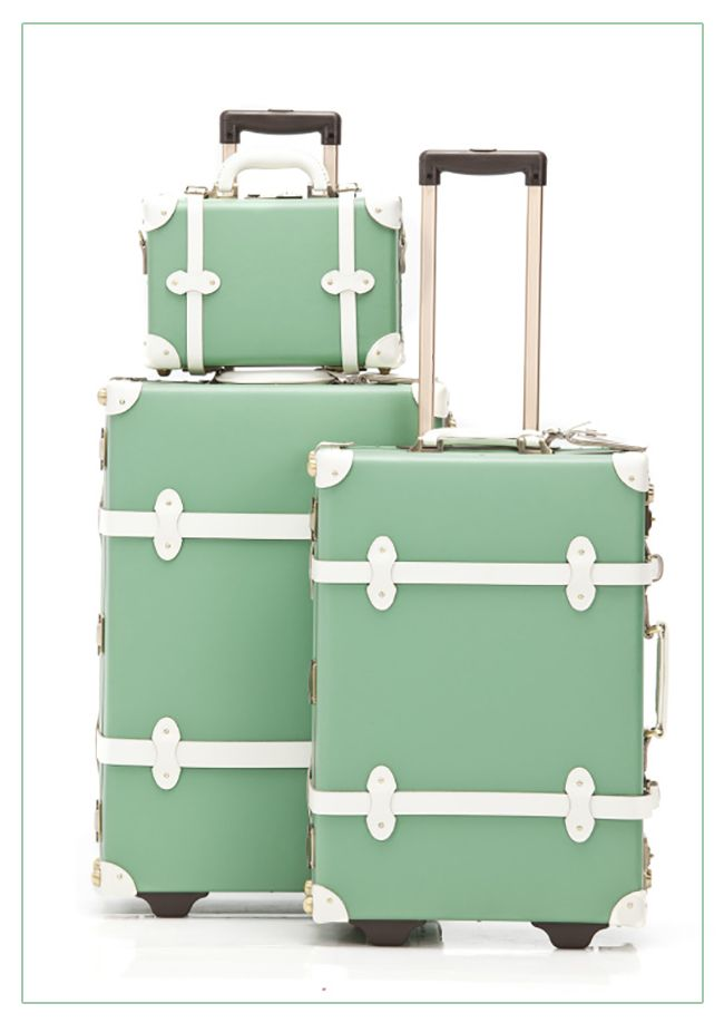 Mint Steamline Travel Luggage Set (Discount Code: IHOD10)