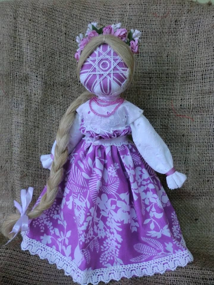 Art doll- had solar symbol, necklace, and flower band from Ukrainian doll but jumper dress is from Russian doll Инна Ивинская
