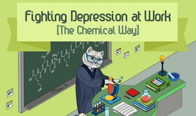 Ways to Fight Depression at Work #Infographic