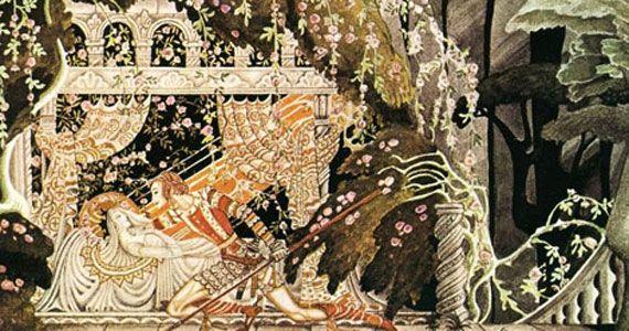 コペンハーゲン出身、デンマークのイラストレーターKay Nielsen(カイ・ニールセン)(1886-1957)は19世紀後半から1930年頃のイギリスを中心とした挿絵の黄金期である「挿絵の黄金時代」に活躍した1人です。 オーブリー・ビアズリーのアール・ヌーヴォー的な線描を受け継いだとされ、同時期のイラストレーターにはウィリアム・モリス、トゥルーズ・ロートレックなどが有名です。 細やかで華やかな装飾と流れるような線がとても美しく、その豪華さだけでなく影を感じさせる幻想的な空間が素晴らしいですね。                           幻想の挿絵画家 カイ・ニールセンposted at 2014.7.5海野 弘,マール社編集部マール社売り上げランキング: 151957Amazon.co.jp で詳細を見る