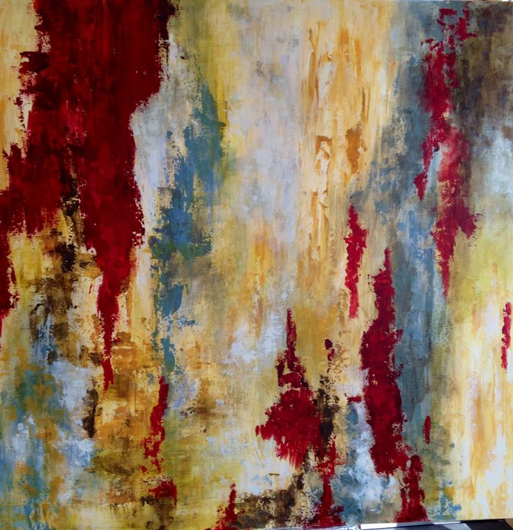 For Lynn...abstract painting