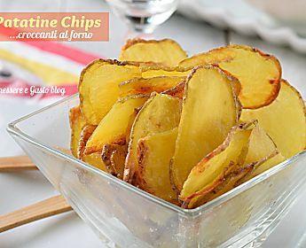 Patatine chips al forno croccanti e leggere | Ricetta
