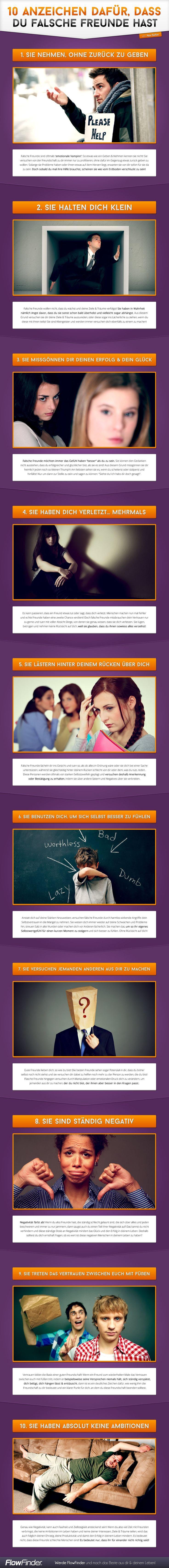 10 Anzeichen dafür, dass du falsche Freunde hast