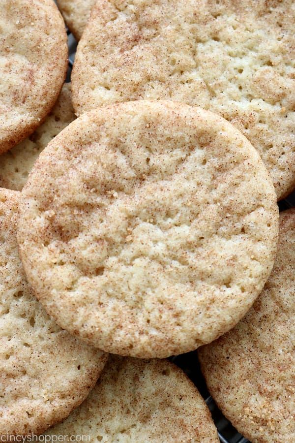Soft Snickerdoodle Cookies Recipe Best Desserts Pinterest