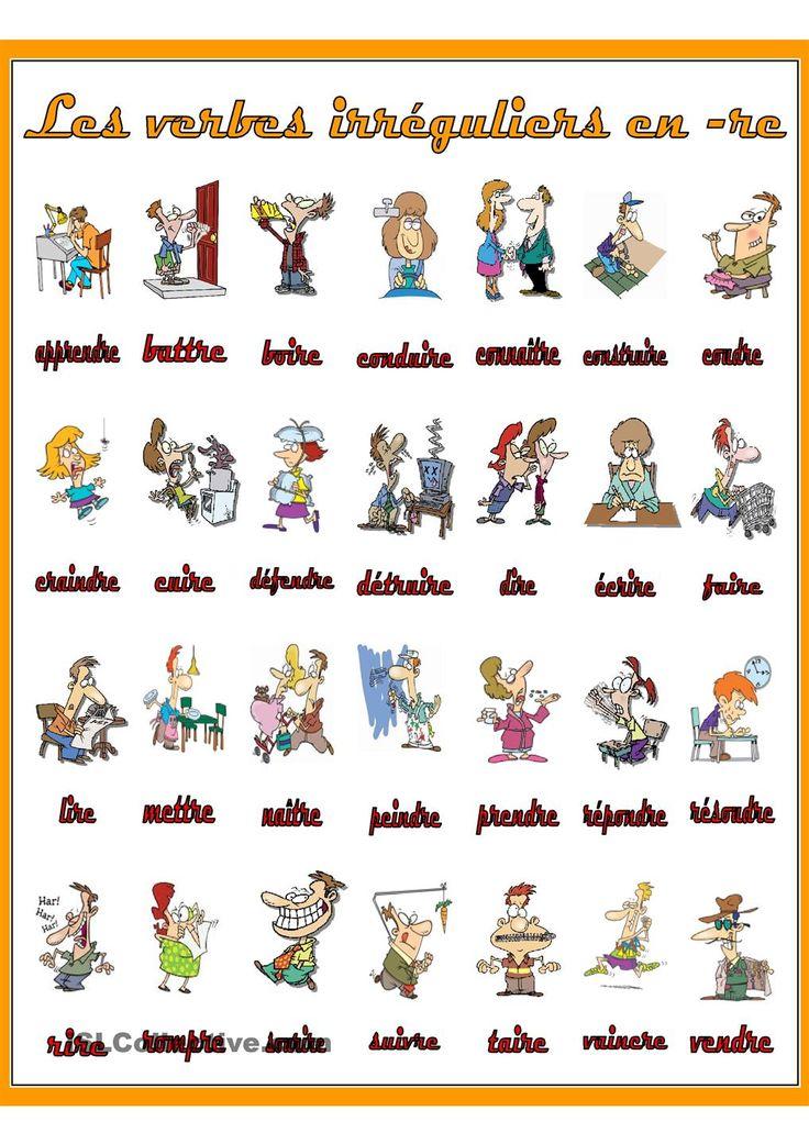 FR Les verbes irreguliers en -re