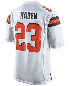 Nike Men's Joe Haden Cleveland Browns Game Jersey - White S