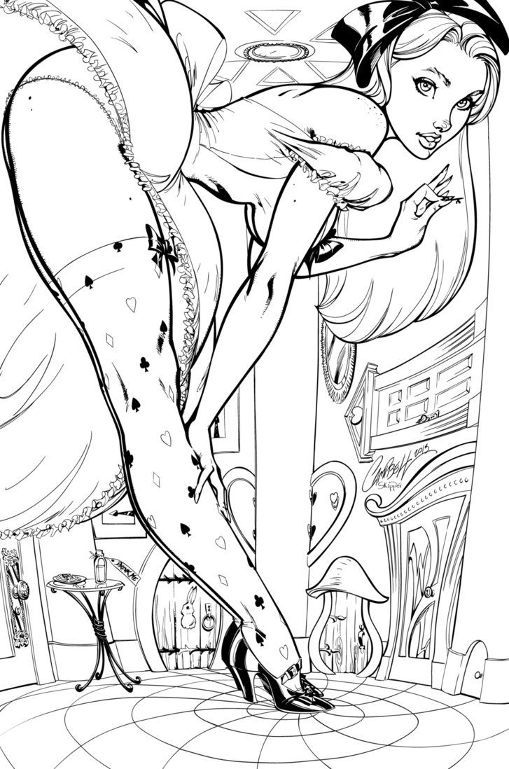 Here Are The Pencils To Lady Death Cover Which Came Out At NYCC Hope Adult Coloring PagesColoring