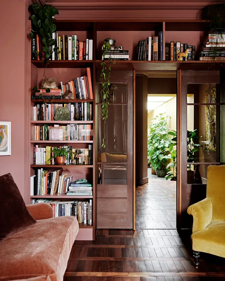 A Colorful London Home Filled with Re-Used Materials
