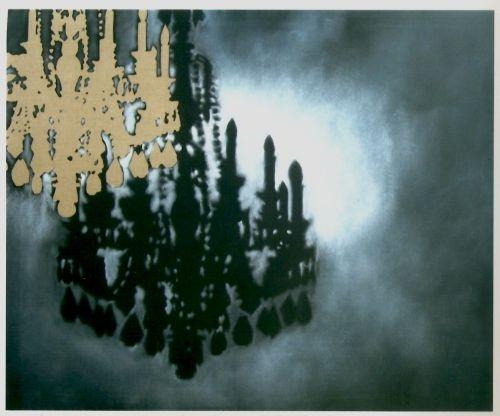 Hannu Palosuo, Today is frightening tomorrow of yesterday, olio su tela, 120x100 - 2010