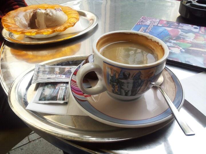Eis/Kaffee bei San Marco in Velbert