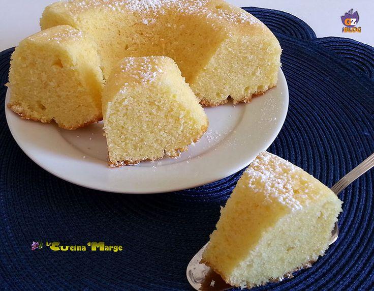 TORTA DI FARINA DI RISO AL LIMONE, una torta morbida soffice ideale per la colazione.TORTA DI FARINA DI RISO è senza glutine perfetta per chi ha ....