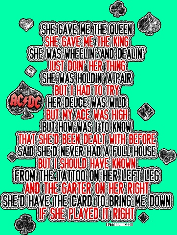 ac dc the jack lyrics