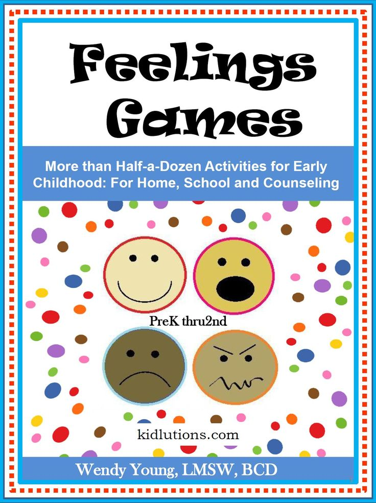 Social Emotional Learning like you've never seen!  Feelings Games is great for home, classroom, therapy, scouting and MORE!