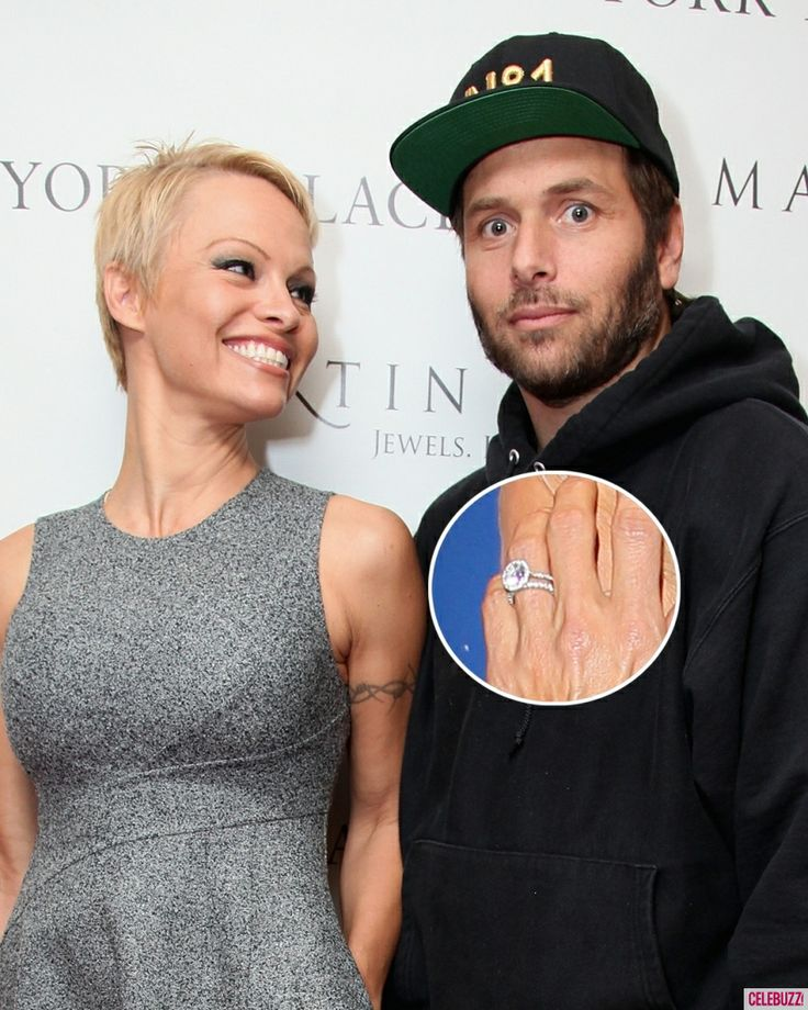 Pamela Anderson and Her Ex-Husband Rick Salomon are Married Again