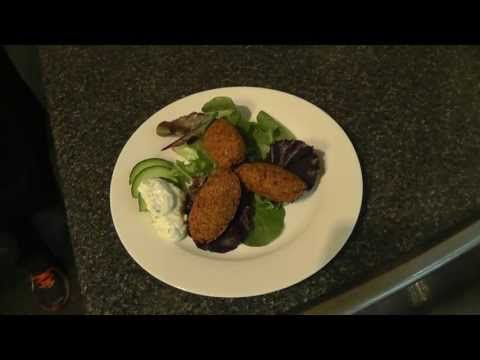 The basics of chickpea falafel. A perfect recipe for Meatless Monday!