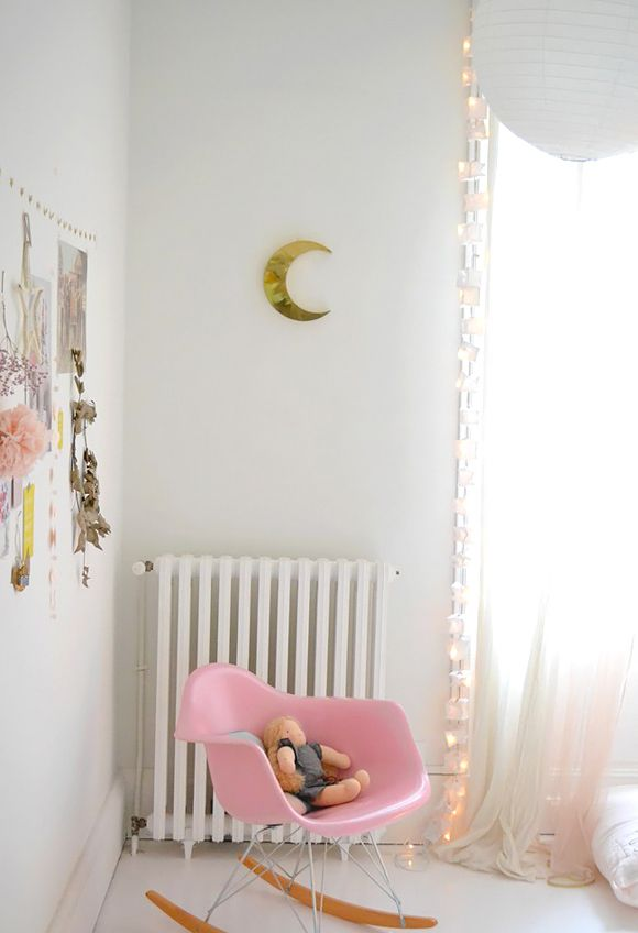 La chambre bébé de Scarlett