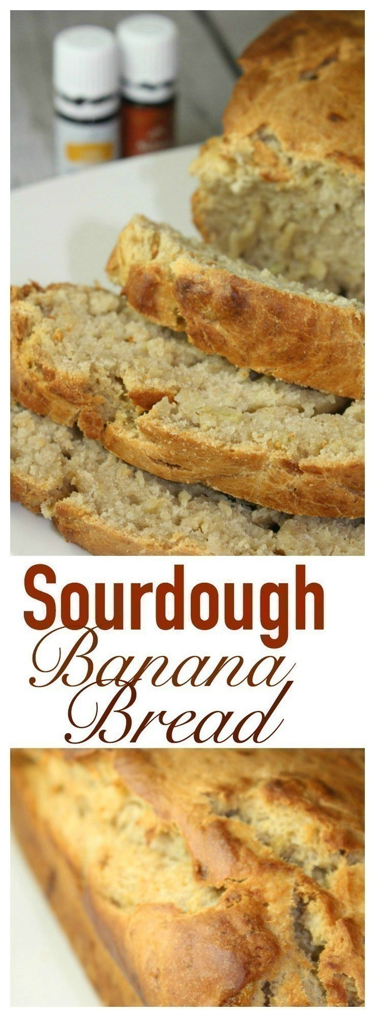 Sourdough Banana Bread is a great way to use up an
