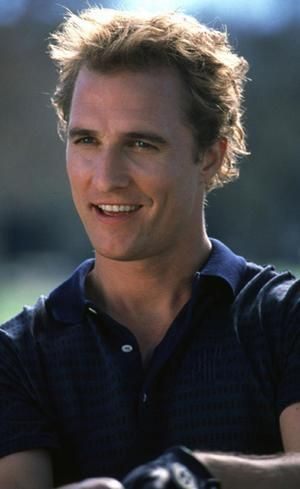 Matthew McConaughy as a young adult posted by caro on 3/15/2013. founded on a…