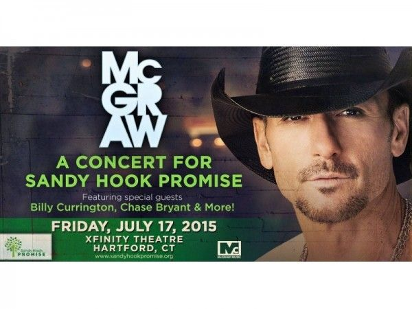 """Country singer Tim McGraw (Democrat, who wants to enter politics, at some point) Headlines Sandy Hook Gun Control Concert ~ On July 17, 2015, Tim McGraw will headline a concert fundraiser in Connecticut for a gun control group called Sandy Hook Promise. McGraw's """"A Concert For Sandy Hook Promise"""" will also feature country singers Billy Currington and Chase Bryant. """"It should be noted that there was 100 percent gun control at Sandy Hook Elementary on December 14, 2012. No guns were allowed…"""