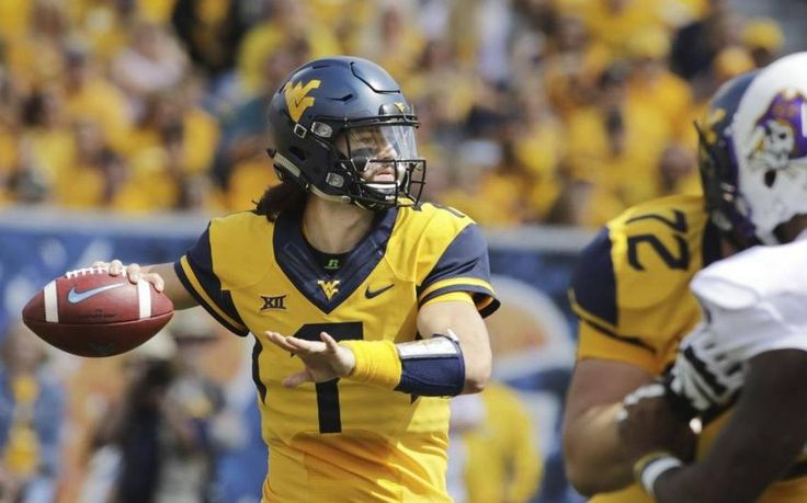 Is West Virginia's Will Grier literally tossing himself into Heisman contention?