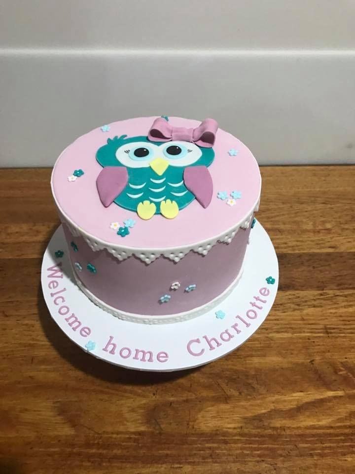 Welcome Baby Cake Decoration : 17 best ideas about Welcome Home Cakes on Pinterest ...