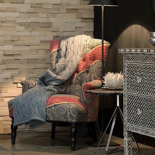 Hermon & Hermon Vintage Kantha Chair