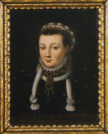Anna van Buren (de laatste telg uit het geslacht Van Egmond) trouwt in 1551 met Willem van Oranje, waardoor IJsselstein de eerste Oranjebaron mag verwelkomen. Bron: Canon van IJsselstein | regiocanons.nl