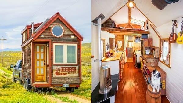 Tiny House O Que E Caracteristicas 15 Exemplos Perfeitos Tiny House House E Casa Estilo Americano